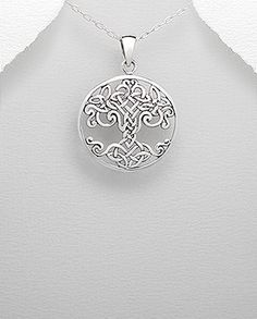 46mm x 33mm Solid 925 Sterling Silver Ladies Large Fashion Fancy Square Pendant