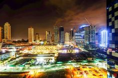 Night at Bonifacio Global City. Yes, there is a Bonifacio city in the Philippines too! Will be going back soon <3