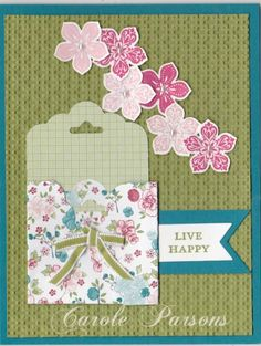Tag Topper Punch Mini Envy by sc magnolia - Cards and Paper Crafts at Splitcoaststampers