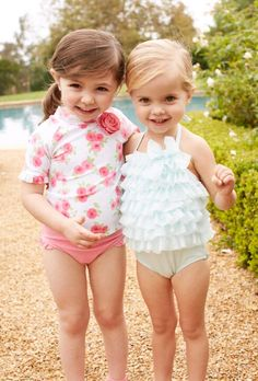 Adorable bathing suits for Charlie