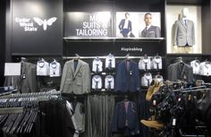 Primark - cedar wood state men's suits & tailoring, £30 slim fit jacket #primark #ispirablog