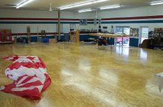 Doyle Inner Bank sail production floor