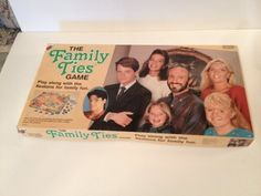 Vintage Board Game 1987 Family Ties TV Show 80s | eBay