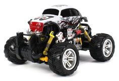 Graffiti Volkswagen Beetle Electric RC OffRoad Monster Truck 118 Scale 4 Wheel Drive RTR Working Hinged Spring Suspension Perform Various Drifts Colors May Vary * See this great product.Note:It is affiliate link to Amazon.