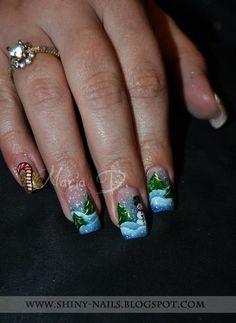 Shiny-Nails by Maria D.: One-Stroke