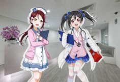 Riko & Nico  in my opinion - they match perfectly! So cute!