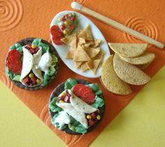 Mexican Tortilla Chips - 1/12 miniature