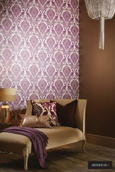 『Import Wallpaper 輸入壁紙 TECIDO DAMASK ARTHOUSE 952601』 http://item.rakuten.co.jp/interior-cozy/952600_952602/ #wallpaper #interior #diy