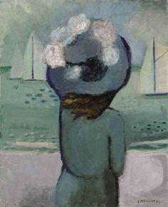 Jean Pierre Cassigneul, Femme au chapeau