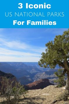 Three iconic U.S. National Parks that are great for families - Grand Canyon, Yosemite and Acadia - the best activities for families with kids in each park | Gone with the Family