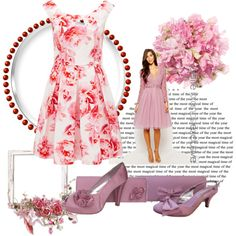 Pink Evening Shoes by sole-divas on Polyvore featuring Forever New, WeddingShoes and eveningshoes