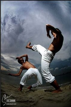 ♂ World Martial Art Brazil Capoeira - Capoeira is an Afro-Brazilian art form that makes a ritual of movements from martial arts, games, and dance. It was brought to Brazil from Angola some time after the 16th century.