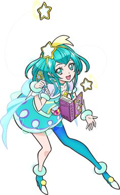 Cure Milky [Star Twinkle PreCure Render] by FFPreCureSpain on DeviantArt Glitter Force Toys, Evee Evolution, Glitter Paint Additive, Miss Kobayashi's Dragon Maid, Beautiful Anime Girl, Pretty Cure, Magical Girl, Anime Style, Twinkle Twinkle