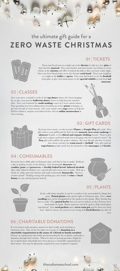 The Ultimate Gift Guide for a Zero Waste Christmas Christmas Gift Guide.jpg The post The Ultimate Gift Guide for a Zero Waste Christmas appeared first on School Ideas. Christmas Gift Guide, Diy Christmas Gifts, Christmas Christmas, Xmas, Handmade Christmas, Holiday Gifts, Christmas Things To Do, Minimal Christmas, Thoughtful Christmas Gifts