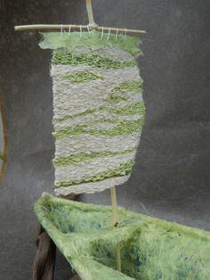 close up of the sail - Donna Crispin