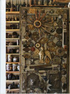 Ettore Guateli: His Own Devices. Photograph: Ricardo Labougle. World of Interiors Magazine. (victorismaelsoto's flickr photostream)