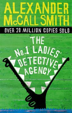 The whole series is amazing.  Mma Ramotswe is very cool indeed.