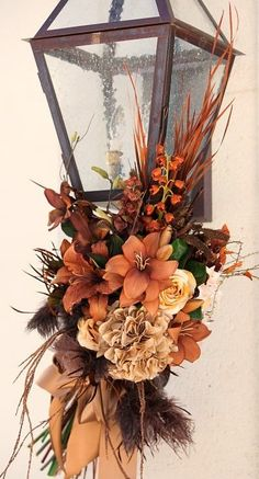 outdoor fall light decor...
