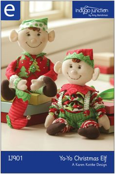 Yo Yo Elf | Sewing Patterns | YouCanMakeThis.com