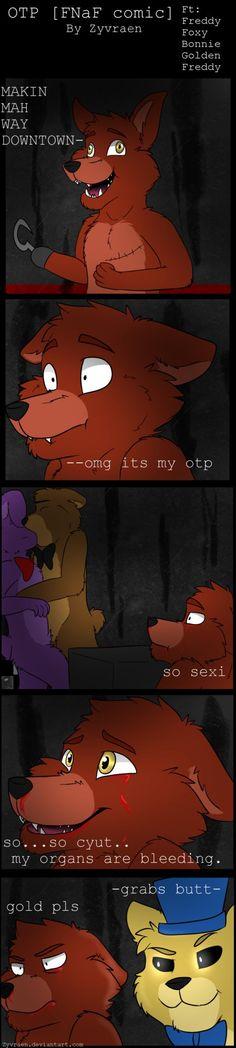 Same ol' boring comic i made. Foxy the Fangirl. =-=-=-= Art belongs to FNaF belongs to Scott Cawthon
