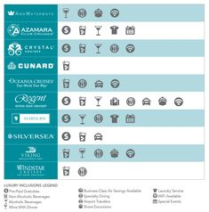 eba57f22d See our handy chart to compare the inclusions with major luxury cruise  lines and see for yourself how choosing luxury can add up to savings.