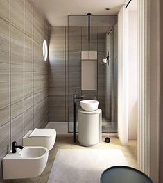 Green bathroom makeover with tropical wallpaper Minimal Bathroom, Modern Bathroom, Small Bathroom, Bathroom Ideas, Master Bathroom, Bathroom Mirrors, Remodel Bathroom, Bathroom Cabinets, Bathroom Remodeling