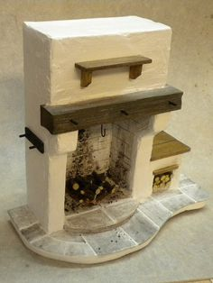 Dolls House Miniatures Medieval / Cottage by FirecraftMiniatures