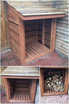 Let's bring home the mind-blowing idea of the wood pallet storage shed for you which you can suitably avail in order to put it up as the storage area for your house. It would be perfect enough to set its location in the outdoor areas of the house in outstanding modes.