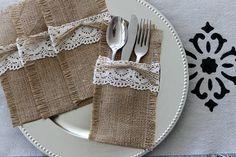 Decoración de mesas con caminos y porta cubiertos   Decorar tu casa es facilisimo.com