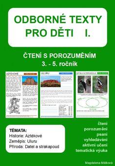 Produkt - Odborné texty pro děti Kids Education, Montessori, History, Learning, School, Literature, Dyslexia, Biology, Childhood Education