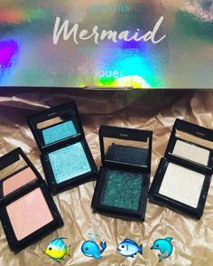 YAAASSS slay #jouer mermaid collection! #trendmood #jouer #jouercosmetics #mermaid #collection #makeup #limitededition #makeupjunkie #makeupaddict #makeupmafia #eyeshadow #palettes #glitter #sparkle by raquel.vanessa