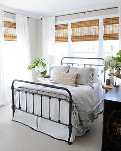 25 best white iron beds images white iron beds antique iron beds rh pinterest com