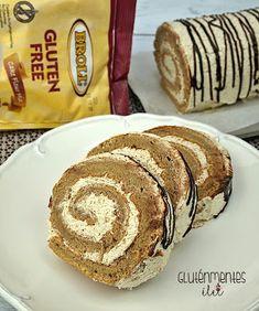 Gluténmentes kávés-diós piskótatekercs | Gluténmentes élet Paleo, Healthy Living, Recipies, Muffin, Bread, Fitt, Breakfast, Ethnic Recipes, Diets
