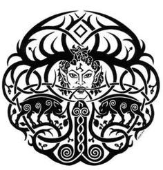 Freyr God Tattoos, Wiccan Tattoos, Tatoos, Runes Of Magic, Ufo Tattoo, Greek Pattern, Pagan Gods, Old Norse, Asatru
