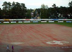 Estádio de beisebol Kitron, em Alajärvi, província de Finlândia Ocidental, Finlândia. Fotografia: Santeri Viinamäki. Wikimedia Commons, Ems, Baseball Promposals, Hs Sports, Fotografia