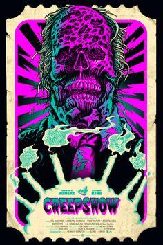 Mondo Texas Frightmare Poster Sale Terminator 2, Aliens  Creepshow