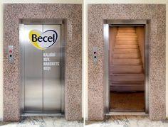 10 Clever Elevator Ads - Oddee.com (advertising on elevators)