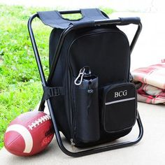 Football season will be here before you know it. If the couple are big fans, perhaps this chair, backpack and cooler all in one is in order!