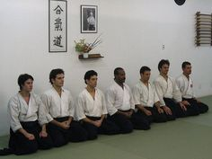Students of Aikido