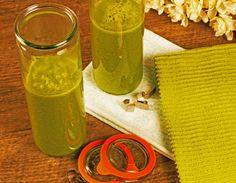 Banana Kale Green Juice #banana #kale #bananakale #green #greenjuice #bananakalegreenjuice