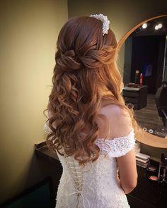 Wedding hair makeup Basak kuafor Ankara