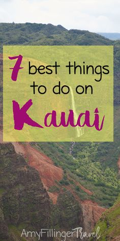 It would be impossible to list off of the amazing things to do on Kauai, but these are some of my top tops! The 7 best things to do in Kauai. Kauai Vacation, Hawaii Honeymoon, Kauai Hawaii, Hawaii Travel, Vacation Spots, Travel Advice, Travel Tips, Travel Ideas, Travel With Kids