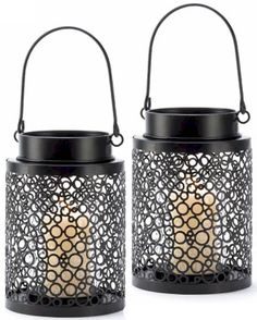 Tiny Bubbles Candle Lanterns... A fresh, funky mesh of bubbles makes this candle lantern a natural addition to your next party!  $37.00