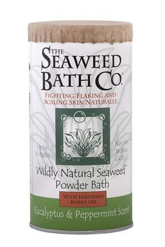 Soak in a hot bath while adding The Wildly Natural Seaweed Powder Bath to soothe your skin and stimulate your senses. With only the best hand-harvested brown seaweed and naturally nourishing ingredients selected from around the world, you get the benefits of detoxifying all while renewing and improving the condition of your skin, even severe chronic issues like redness and flaking.
