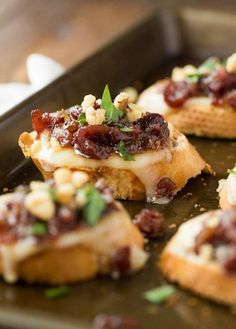 37 Easy Make-Ahead Thanksgiving Appetizer Recipes to Make Your Day Easier Make the big day that much easier with these delish eats. - 21 Make-Ahead Thanksgiving Appetizers to Make Your Day Easier via Brit + Co Make Ahead Appetizers, Holiday Appetizers, Appetizer Recipes, Meat Appetizers, Party Appetizers, Snack Recipes, Appetizer Dishes, Appetizer Ideas, Party Recipes