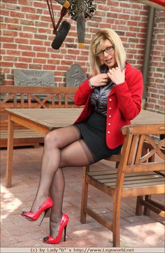 Lady Ewa High Heels - Photo SEX