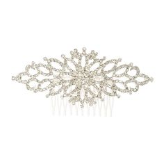 Classic Crystal Hair Comb