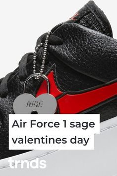 Nike sympathizes with the heartbroken and releases the Sage Low Valentine's Day Sneaker featuring a broken swoosh. Air Max 95, Nike Air Max, Nike Af1, Vans Old Skool, Fashion Games, Air Force 1, Sage, Valentines Day, Air Jordans