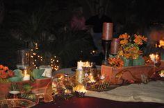 Harvest Party Center Pieces