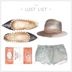 LUST LIST | Less Is More - More Or Less Head over to http://thelustlist.bigcartel.com to grab your own Lust List work